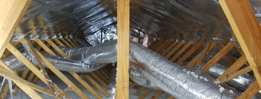 Reflective Attic Insulation