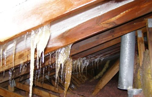 icicles-hanging-from-attic-ceiling