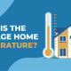 What is the Average Home Temperature
