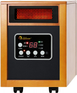 Energy Efficient Space Heater - Dr Infrared Heater Portable Space Heater