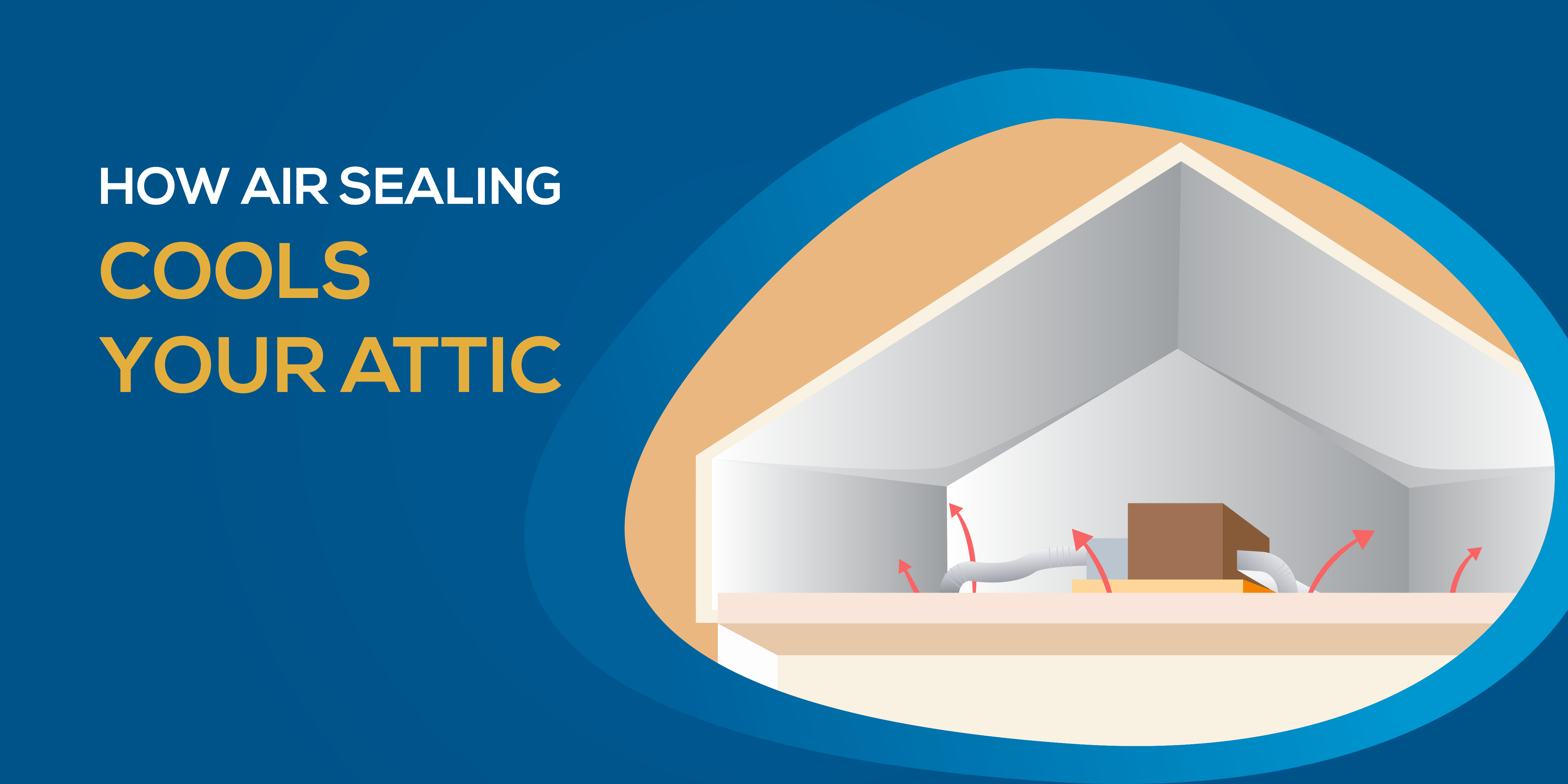 How Air Sealing Cools Your Attic