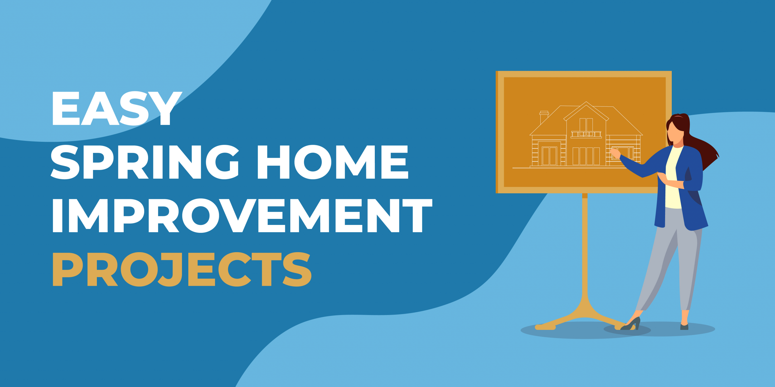 Easy Spring Home Improvement Projects