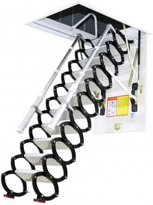 Best Attic Stairs - Metal Retractable Ladder