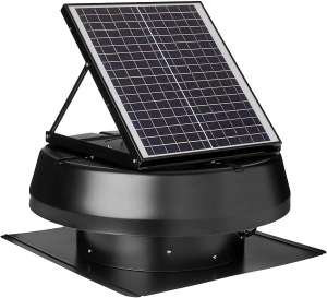 Best Solar Attic Fan - iLiving