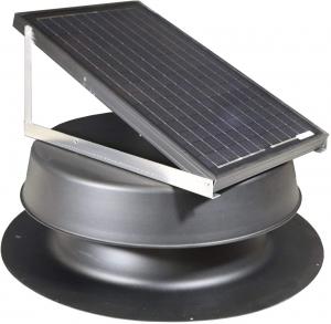 Best Solar Attic Fan - Natural Light