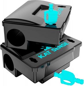 Kat Sense Rat Bait Station Trap