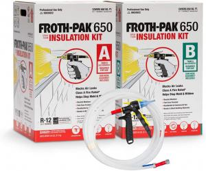 Best Spray Foam Attic Insulation - Froth-Pak 650