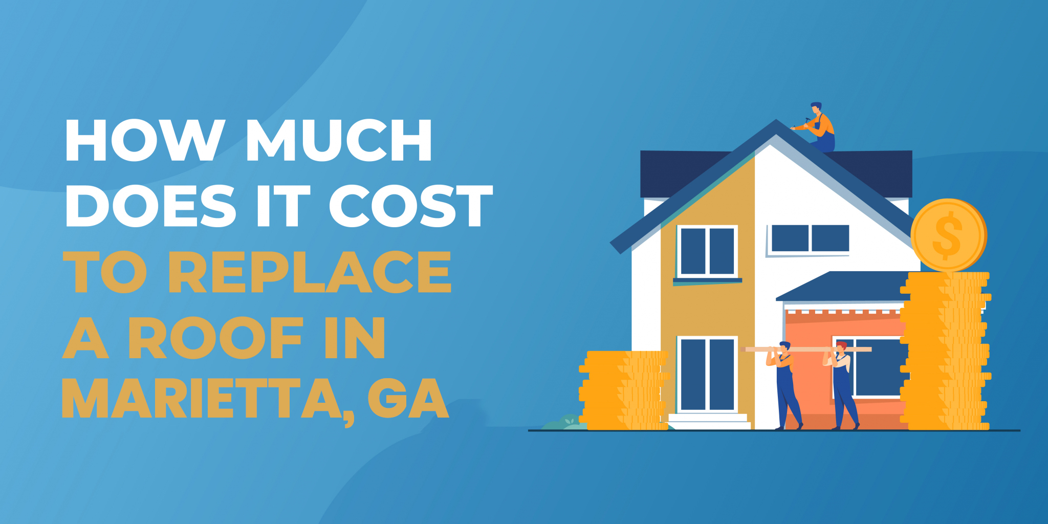 How Much Does It Cost to Replace a Roof in Marietta?